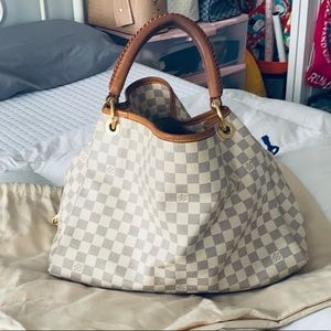 Louis Vuitton Artsy Handbag Damier MM and Wallet
